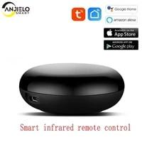 Telecommande intelligente sans fil  wi-fi  IR  application Tuya  Smart Life  controle a infrarouge  avec Alexa et Google Home