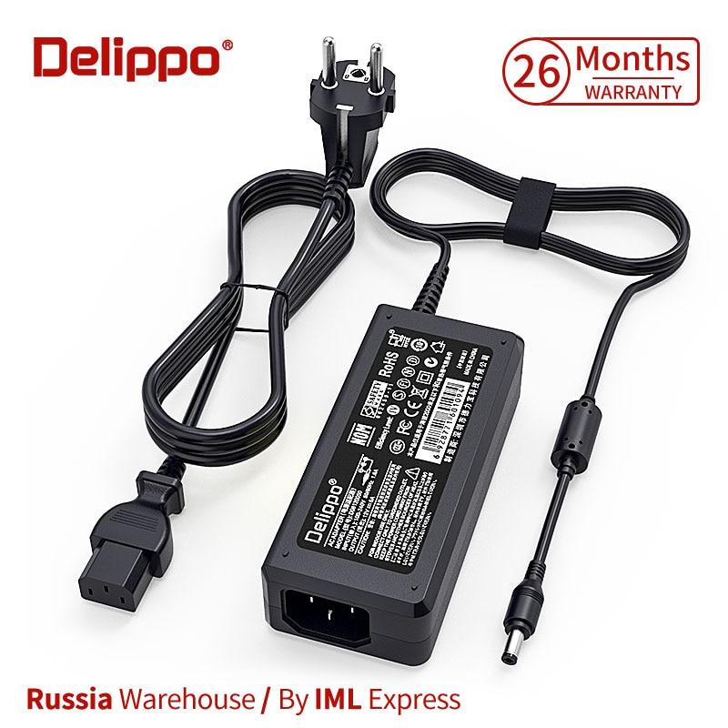 Delippo großhand 30PCS AC Konverter Adapter DC 12V 5A 60W 3A4A5A Netzteil Ladegerät für Aoc Asus monitor LCD LED Streifen licht