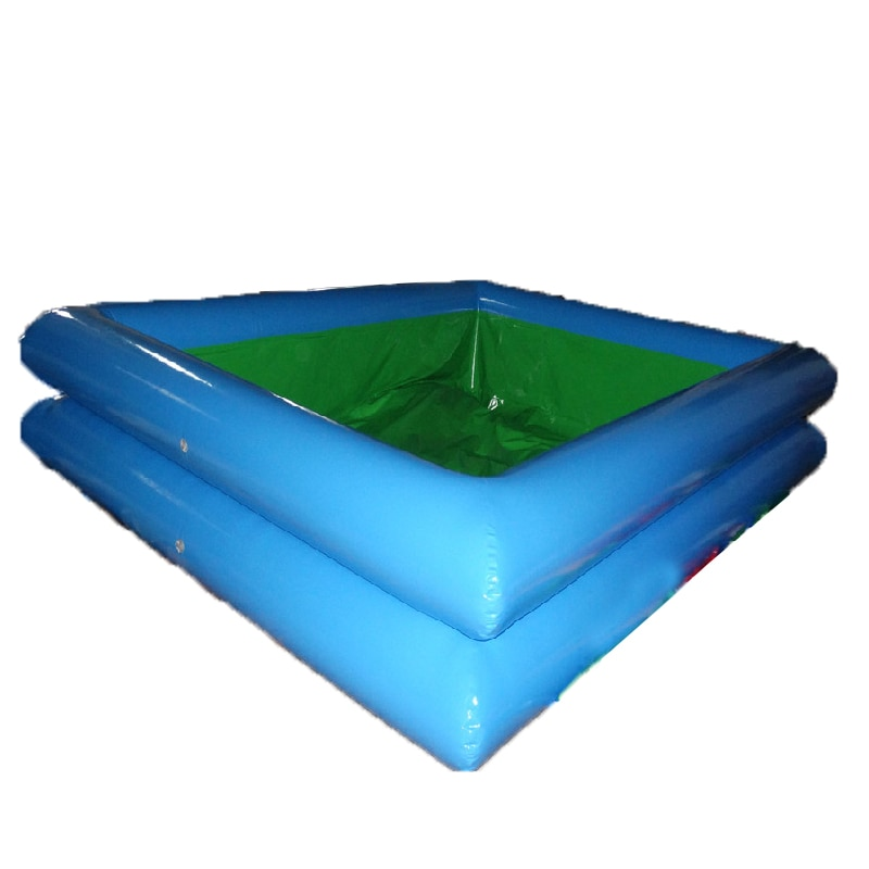 Inflatable Swimming Pool Factory Customized Commercial PVC Inflatable Water Square Pool For Kids And Adults Fun Play
