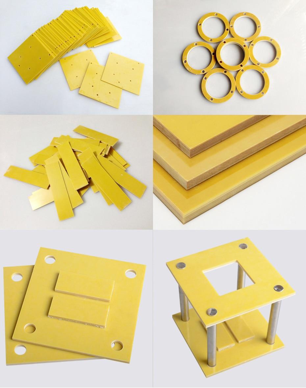 Купить с кэшбэком 2pcs 3240 epoxy resin board insulation board electric board fiberglass board high temperature resistant board processing custom