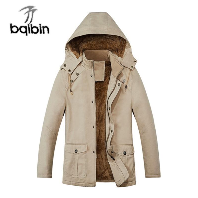 Chaqueta de invierno para hombre, Parkas informales gruesas, chaqueta acolchada de algodón,...
