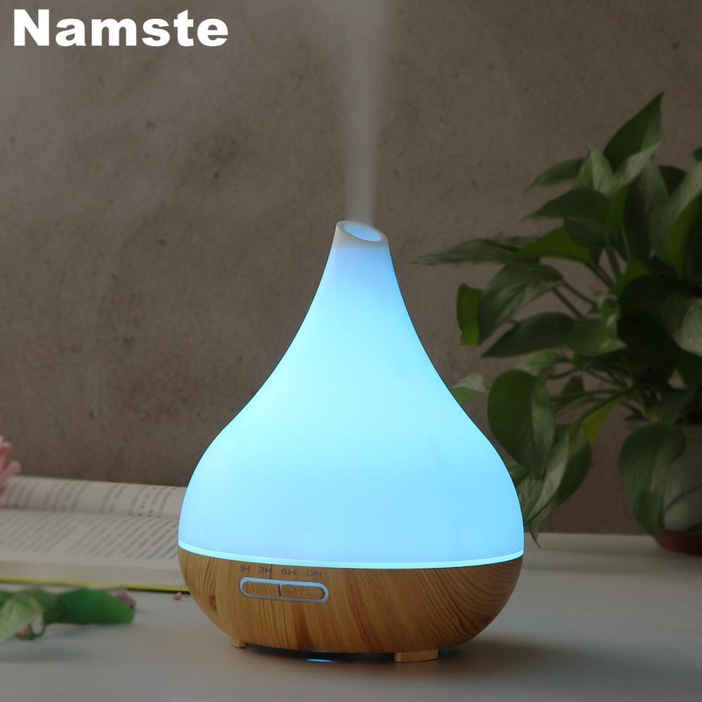 NMT-212 увлажнитель 400 мл эфирные масла Офис воздуха холодный туман очиститель 7 цветов светодиодный ночной Светильник