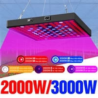 led quantum board grow light full spectrum 2000w phyto lamps 220v led plant bulb 3000w greenhouse hydroponic growing phytolamp