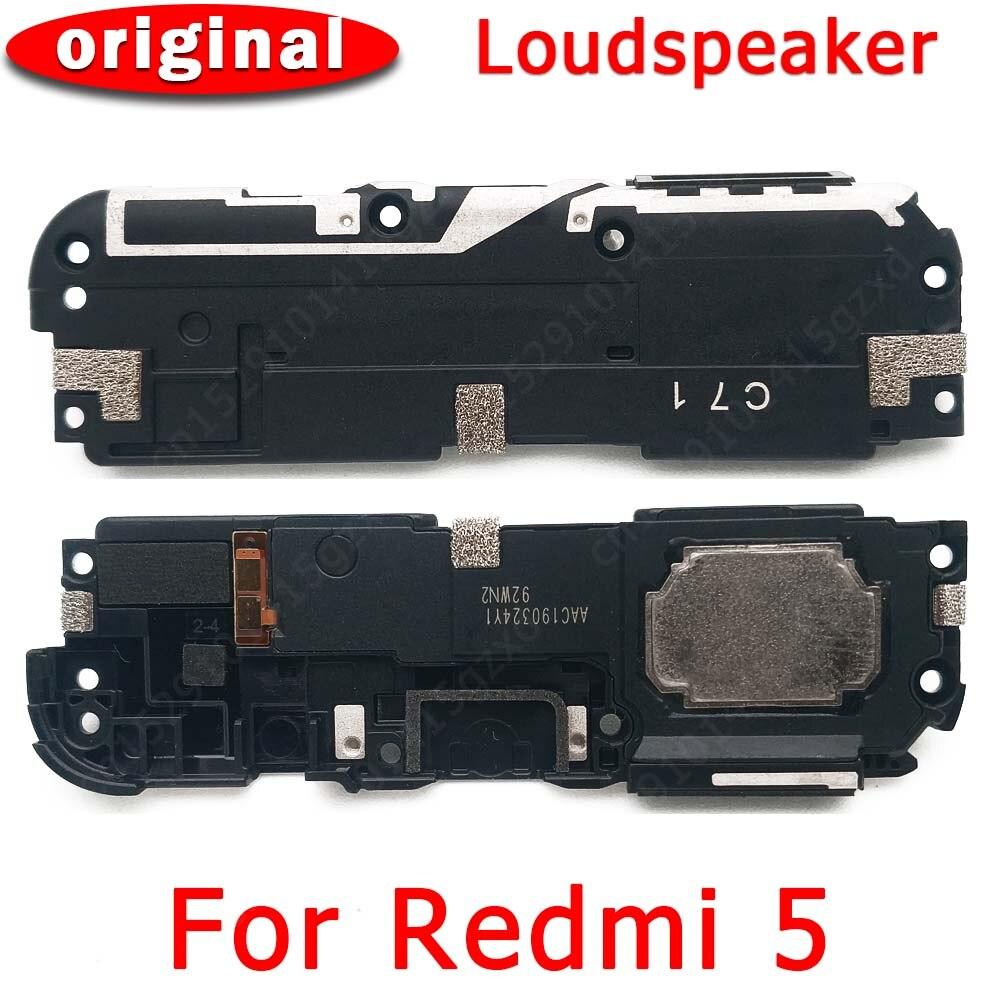 Original Loudspeaker For Xiaomi Redmi 5 Loud Speaker Buzzer Ringer Sound Module Mobile Phone Accessories Replacement Spare Parts