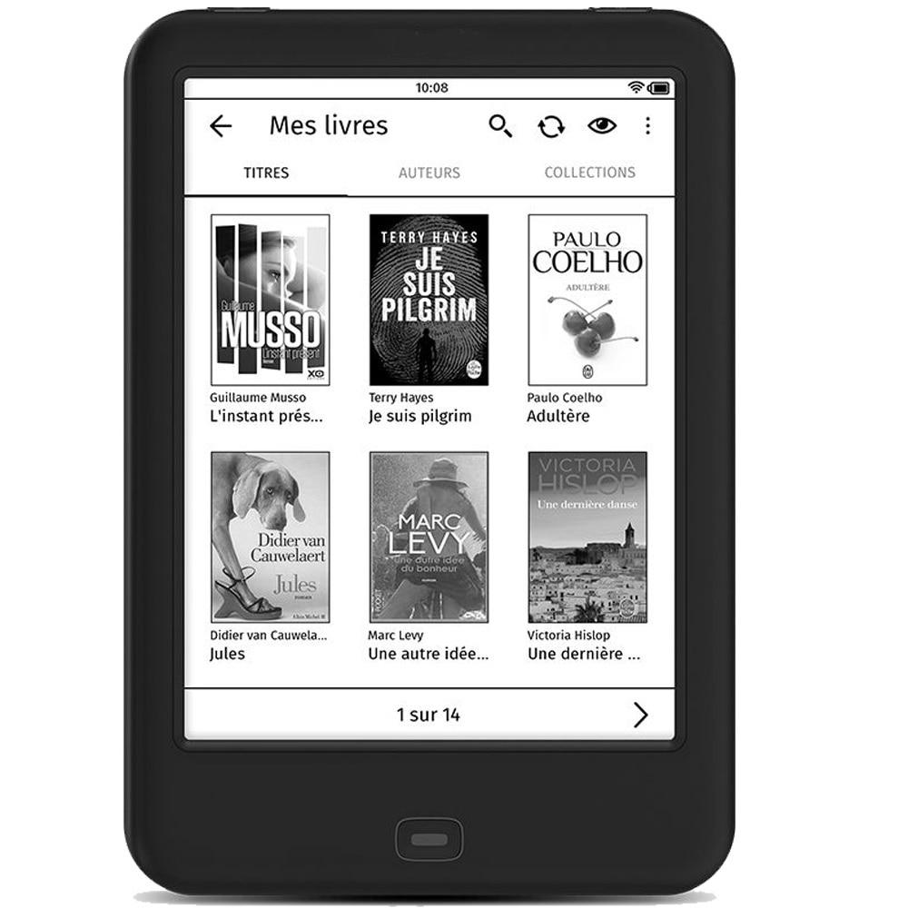 Lector de libros electrónicos WiFi HD 300 PPI E lector de tinta táctil de 6 pulgadas Ebook 4G de memoria con retroiluminación
