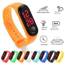 Digital Watch Men Women LED Sport Digital Wrist Watch Touch Screen Watch For Kids Electronic Silicon