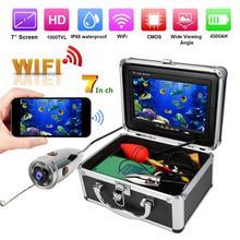 7in HD caméra sous-marine vidéo IR caméra Wifi 1000TVL couleur moniteur IP68 49.2ft câble onderwater caméra pêche caméra 100-240V
