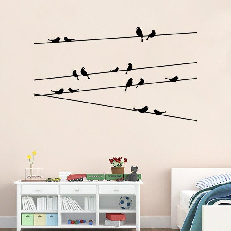 Pegatinas de pared para decoración de dormitorio, papel tapiz decorativo de vinilo...