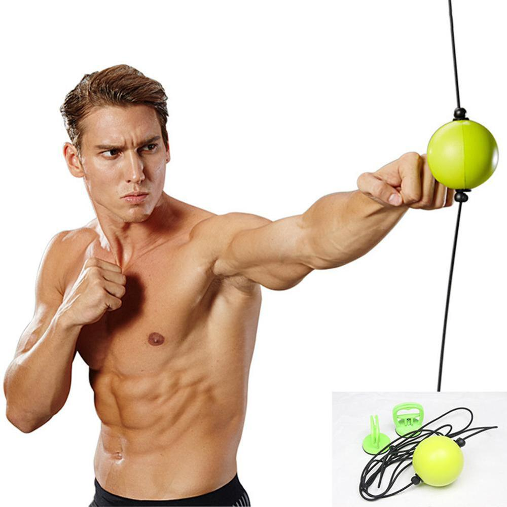Boxing Quick Puncher Reflex Ball Speed for Muay Thai MMA Fitness Training Sports Professional Equipment