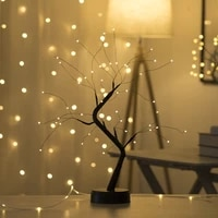 led table bonsai tree light touch switch diy artificial string lamp for room festival holiday batteryusb operated nightlights