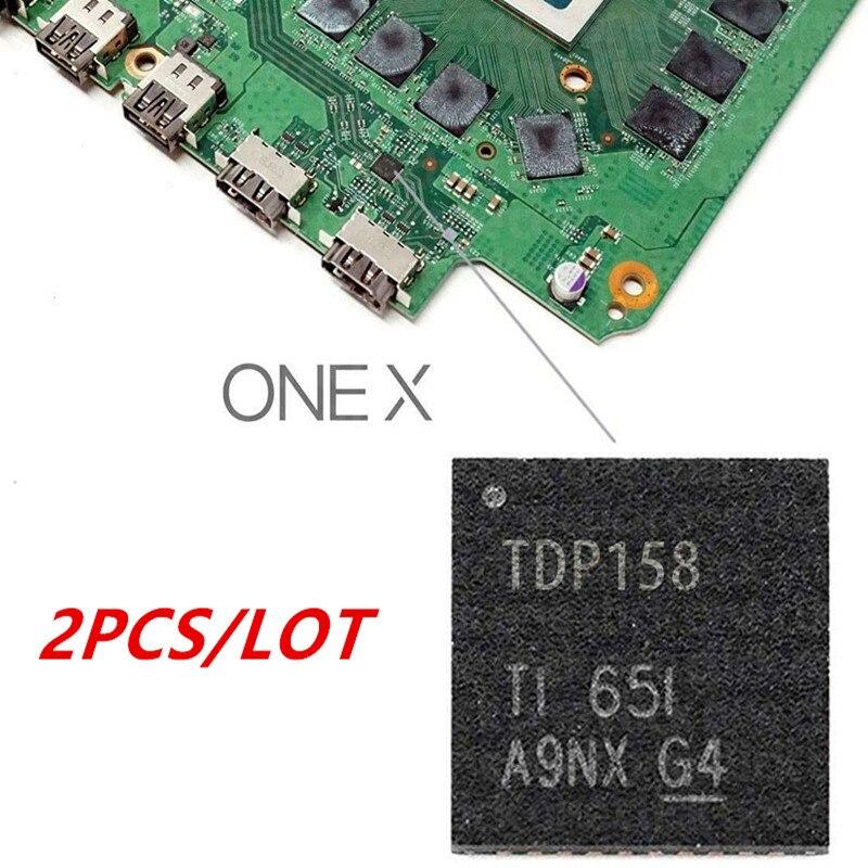 Uds compatible con HDMI IC Chip de Control resincronizador TDP158 piezas de...