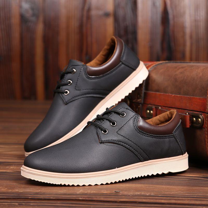 Фото - Мужские деловые туфли, деловые туфли ручной работы, свадебные туфли большого размера, модные кожаные повседневные туфли на шнуровке carlabei туфли carlabei ha833 121 q466