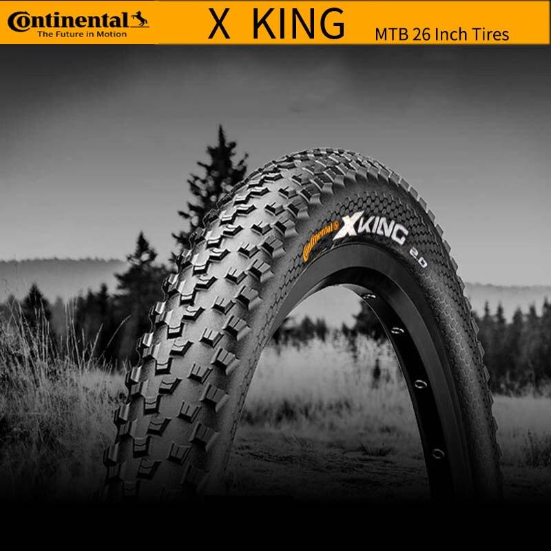 Continental X king Cross King 26 × 2,2 27,5 × 2,2 26 27,5 pulgadas neumáticos plegables de bicicleta sin tubo