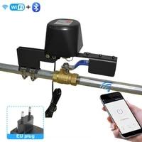 Vanne WiFi Tuya pour maison connectee  controle dautomatisation de leau et du gaz  fonctionne avec Google  fonctionne avec Alexa et Google Home Assistant