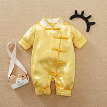 Malapina Special Newborn Chinese one-piece Romer Custome Custome for Baby Boys Girls Festive Bodysui