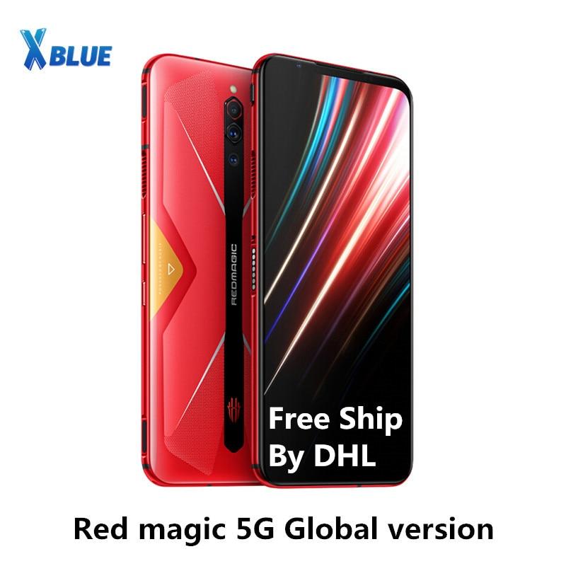 Игровой телефон Nubia Red Magic, глобальная версия, 6,65 дюйма, Snapdragon 865, мобильный телефон NFC, 4500 мАч, 64 мп, 55 Вт, быстрая зарядка