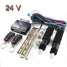 24V Auto Diefstalbeveiliging Afstandsbediening Centrale Vergrendeling Keyless Afstandsbediening Entry Alarmsysteem