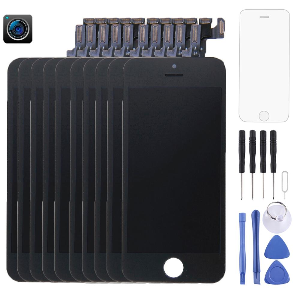 10-pcs-lcd-screen-and-digitizer-full-assembly-with-front-camera-for-iphone-5s