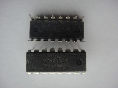 5pcs/lot MC33067P MC33067 DIP-16 In Stock