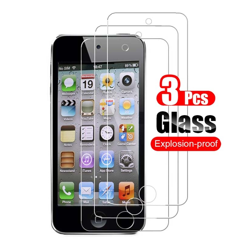 3Pcs for Apple iPod Touch 5 6 7 Tempered Glass Screen Protector for iPod Touch 5 6 Touch7 Glass Prot
