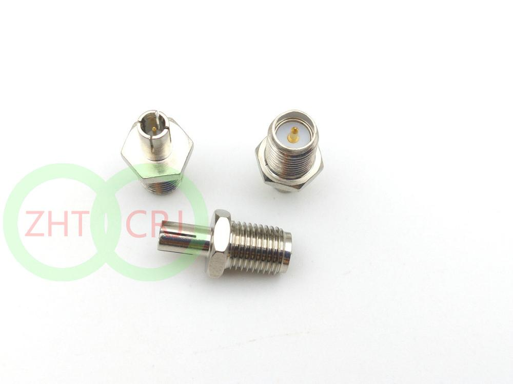 100 шт. адаптер RP SMA Jack Female к TS9, прямые коннекторы, продажа