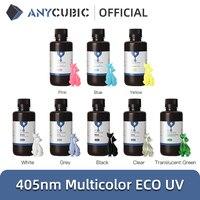 УФ-смола для 3D-принтера ANYCUBIC, высокоточная Экологически чистая смола на основе растений, с низким запахом и безопасностью, 405 нм, для ЖК-экран...