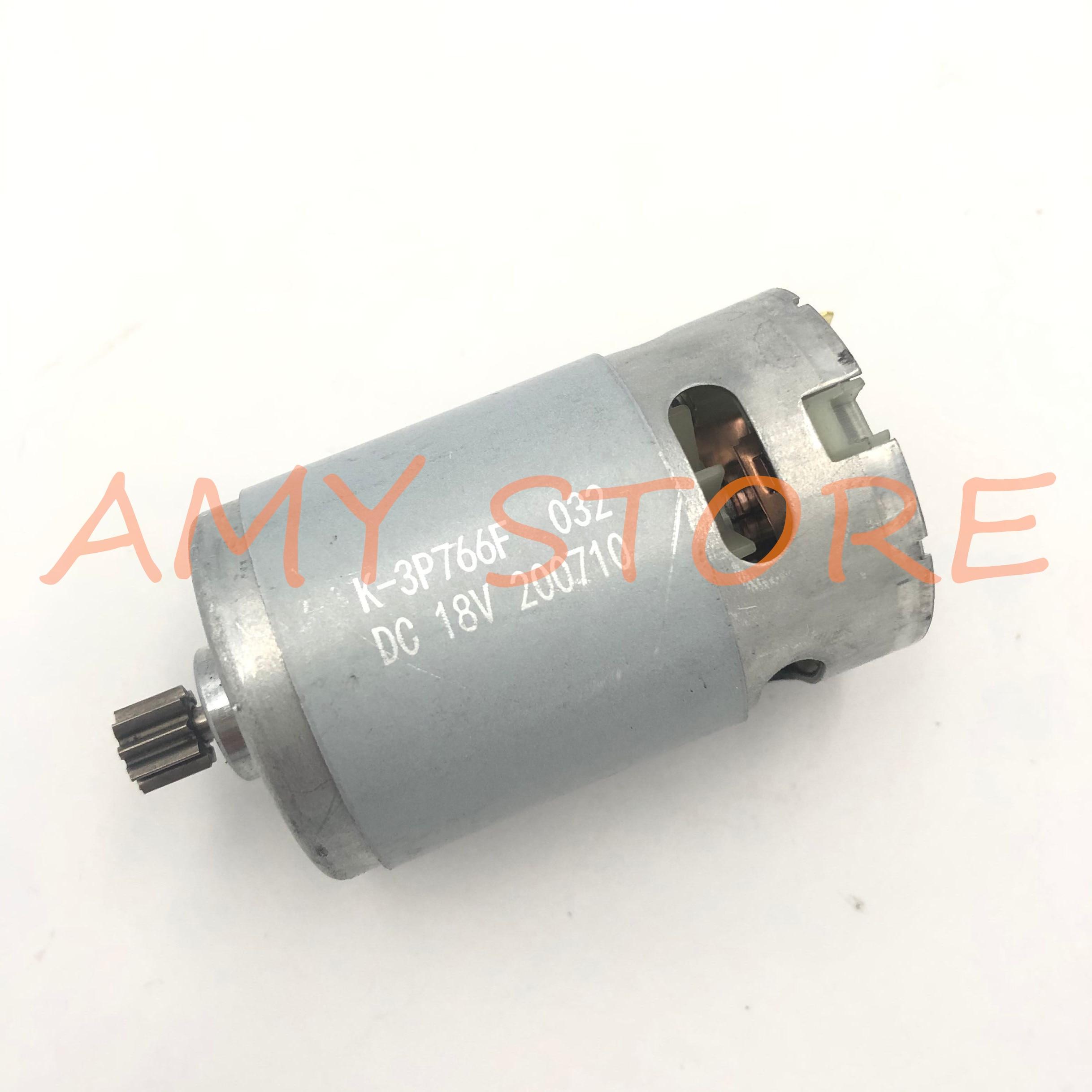RS550 Motor 17 14 15 11 12Teeth 9Teeth 7.2 9.6 10.8 12V 14.4V 16.8 18V 21 25VGear 3mmShaft For Cordl