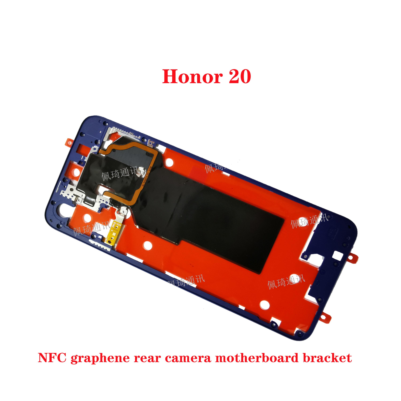 Para Huawei Honor 20 View 20 P10 Plus midframe cubierta trasera soporte NFC cámara trasera placa base soporte