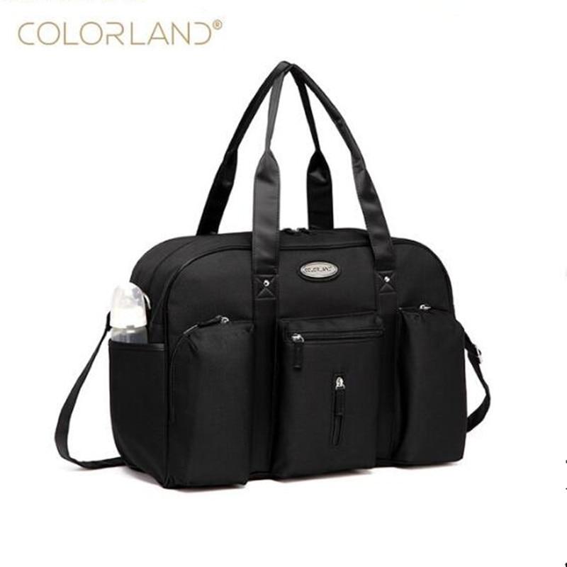 Colorland Baby Diaper Bag Backpack Organizer Large Mom Messenger Nappy Bags Fashion Mummy Maternity Bag Mother Maternity Handbag