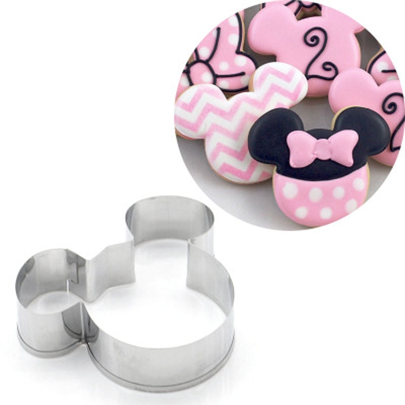 diy baking accessories christmas mini stainless steel biscuit cake chocolate 3d christmas decoration bake mold kitchen gadgets 2021 Kitchen Gadgets 2.5*3.5inch Stainless Steel Cookie Mold Cutter Animal Biscuit Cake Mould Cookie Cutter DIY baking