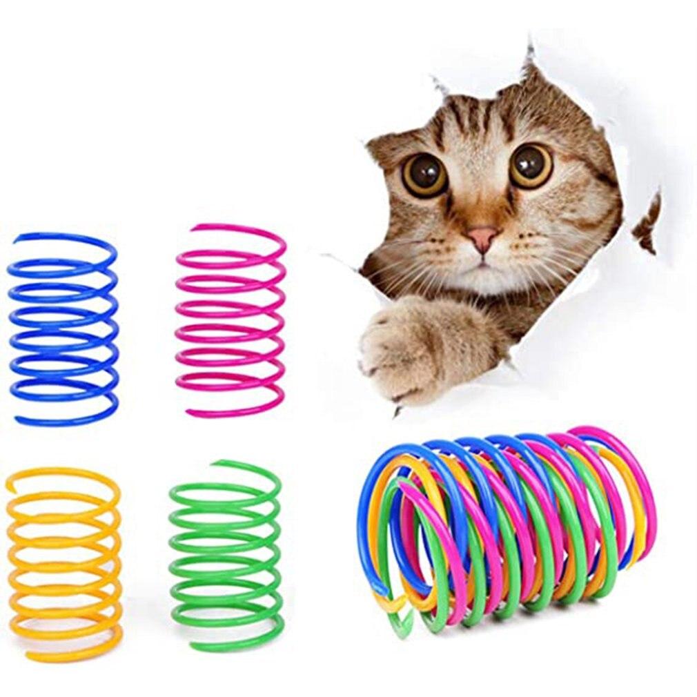 4 шт., пружинные спиральные пружины для котят