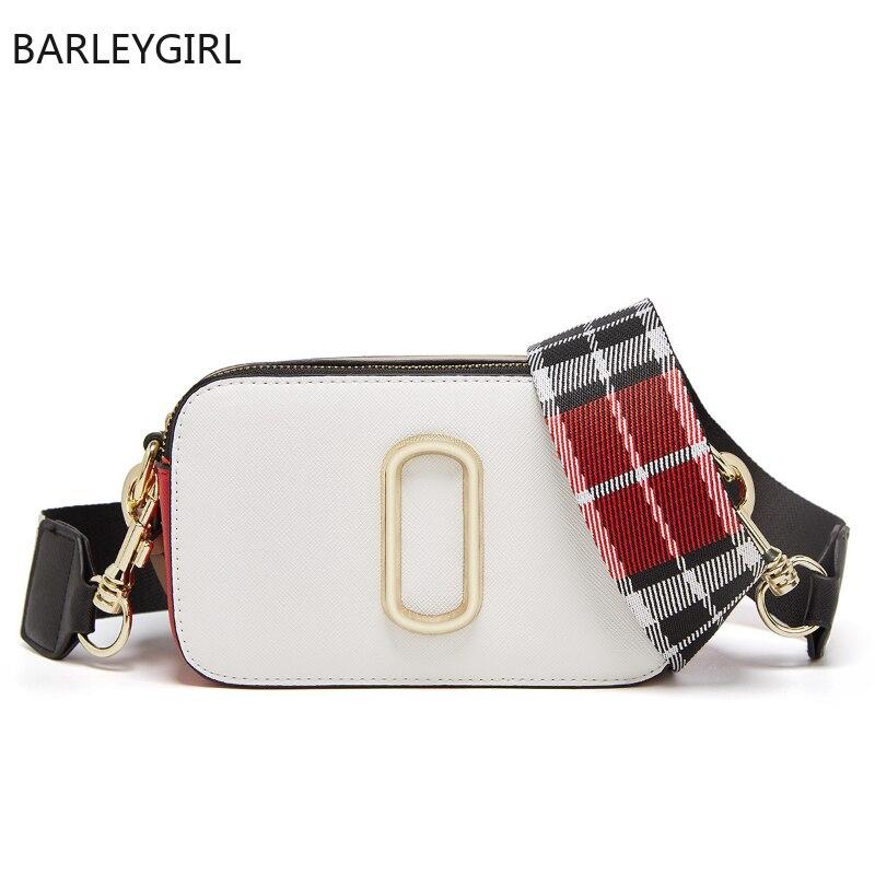 2021 جديد الملمس المرأة حقيبة واسعة الكتف حزام موضة اللون مطابقة حقيبة كاميرا حقيبة كتف نسائية Slung واحدة Satchels حقيبة