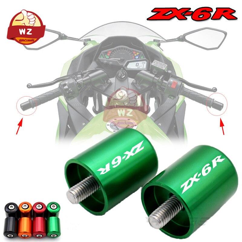 Accesorios de la motocicleta CNC aluminio apretones de manillar Bar termina tapa...