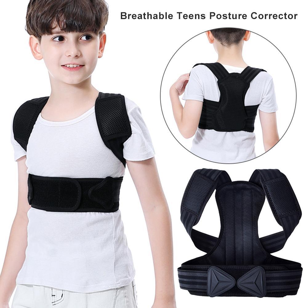 Correcteur de Posture ajustable pour enfants et adolescents, ceinture de soutien des épaules et du dos, Corset orthopédique, redresseur de soutien