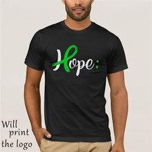 Mental Health Awareness Hope Green Ribbon Shirt for Women