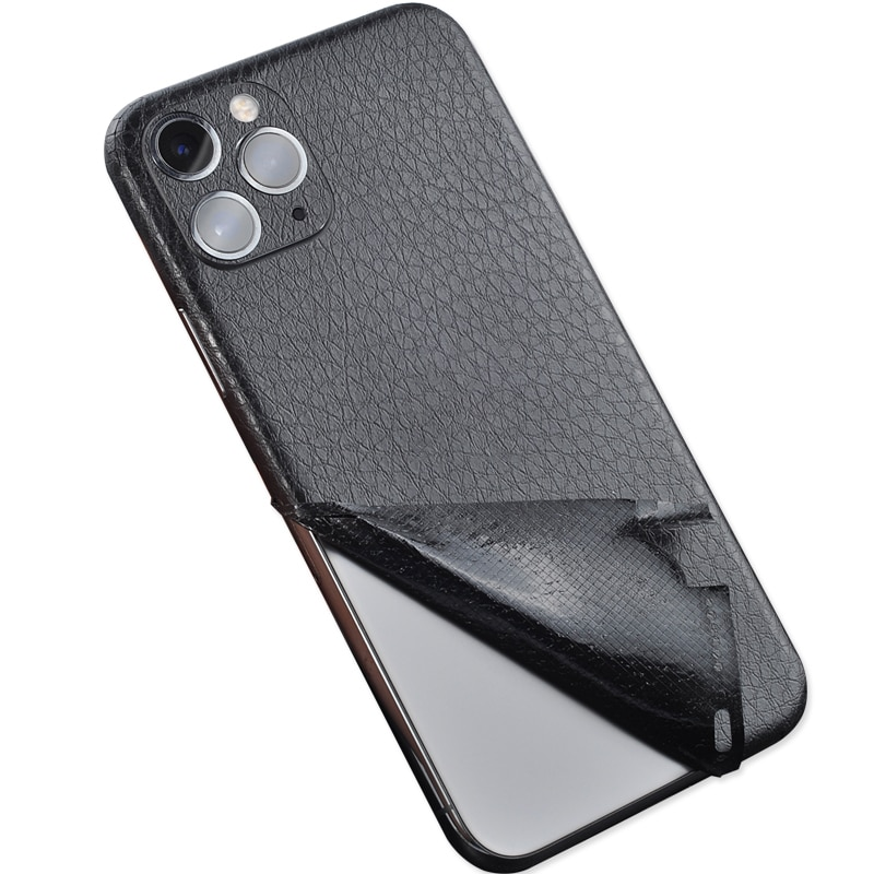 Новая кожаная наклейка для iPhone 6, 6 S, 7, 8X11, задняя пленка, тонкая защитная крышка, задняя декоративная наклейка