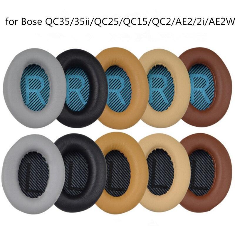 Almohadillas para orejas de repuesto Bose QuietComfort, QC35/35ii/QC25/QC15/QC2/AE2/2i/AE2W, confort superior, Extra duradero