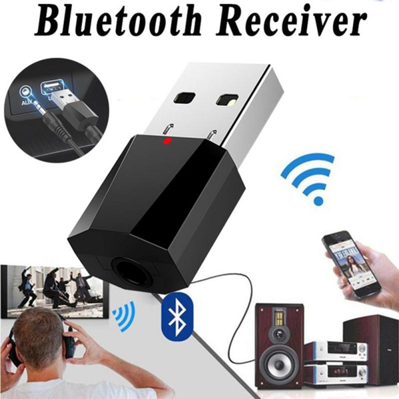 5.0 USB Bluetooth Transmitter Receiver Adapter For TV PC Headphones Home Stereo Car HIFI Audio