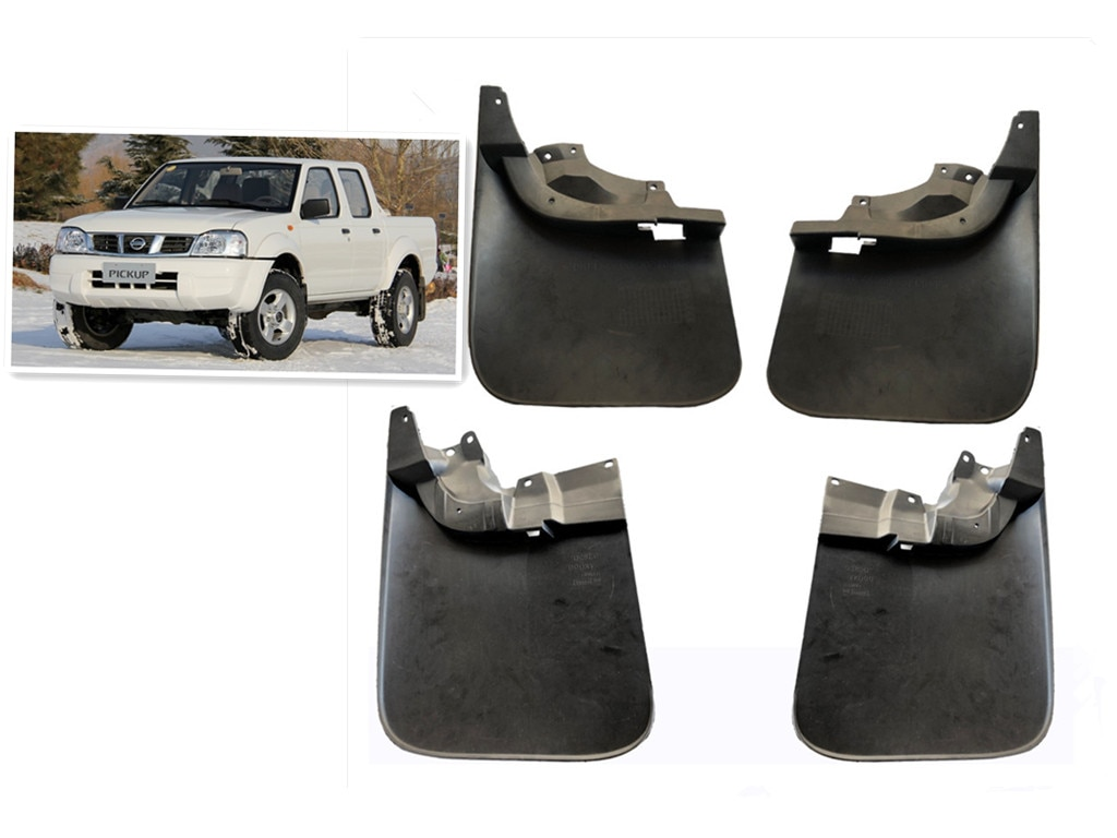 Автомобильный щиток грязи для Nissan пикап 4X4 Navara D22 брызговик переднее заднее крыло вспышки 63851-VK000 93820-VK000