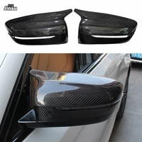 replacement mirror cover for bmw 5 series 525i 530i 540i g30 g31 side rear mirror left hand driver carbon fiber m style 2018