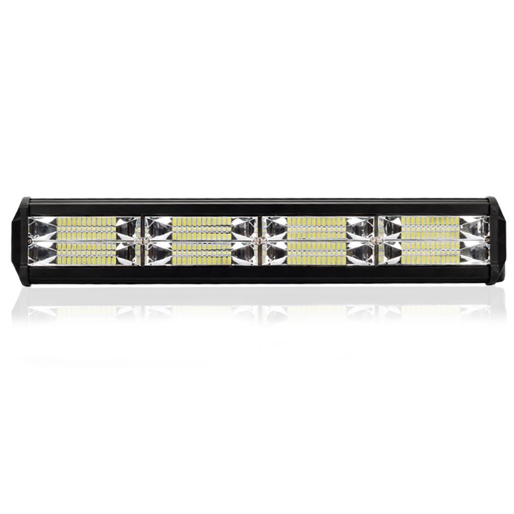 288W 6000K 3600LM LED Light Bar Trabalho Leve para Tractor Boat Off-Road Do Carro