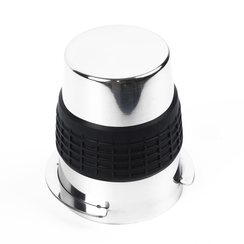 Vaso dosificador de precisión de polvo de café de acero inoxidable para molinillo EK43 Durable UK
