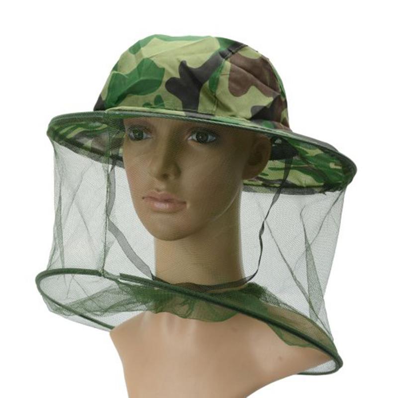 Взрослая шляпа пчеловода на открытом воздухе камуфляж Буш Кепки Антимоскитные штаны шаль Рыбалка Солнцезащитная сетка Кепки