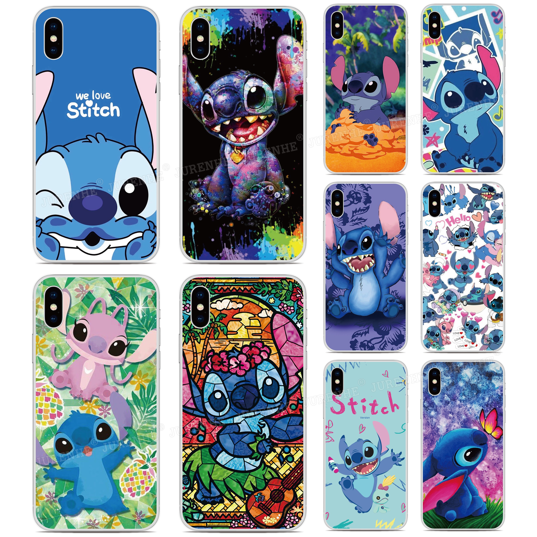 Goma, TPU suave Funda Stitch Ohana teléfono caso para Umidigi A3X F2 A3S A3 A5 S3 S5 A7 Pro F1 Play 3 X Max cubierta de silicona