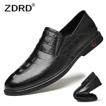 Cow Genuine Leather Shoes Men Spring Autumn Fashion Casual Business Loafers Men Office Party Flats S