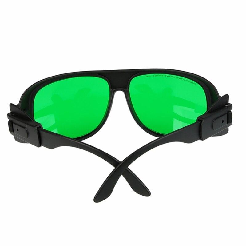 Красный лазер безопасность очки защитные очки с чехлом для 180-430 нм 630-750 нм глаз защита