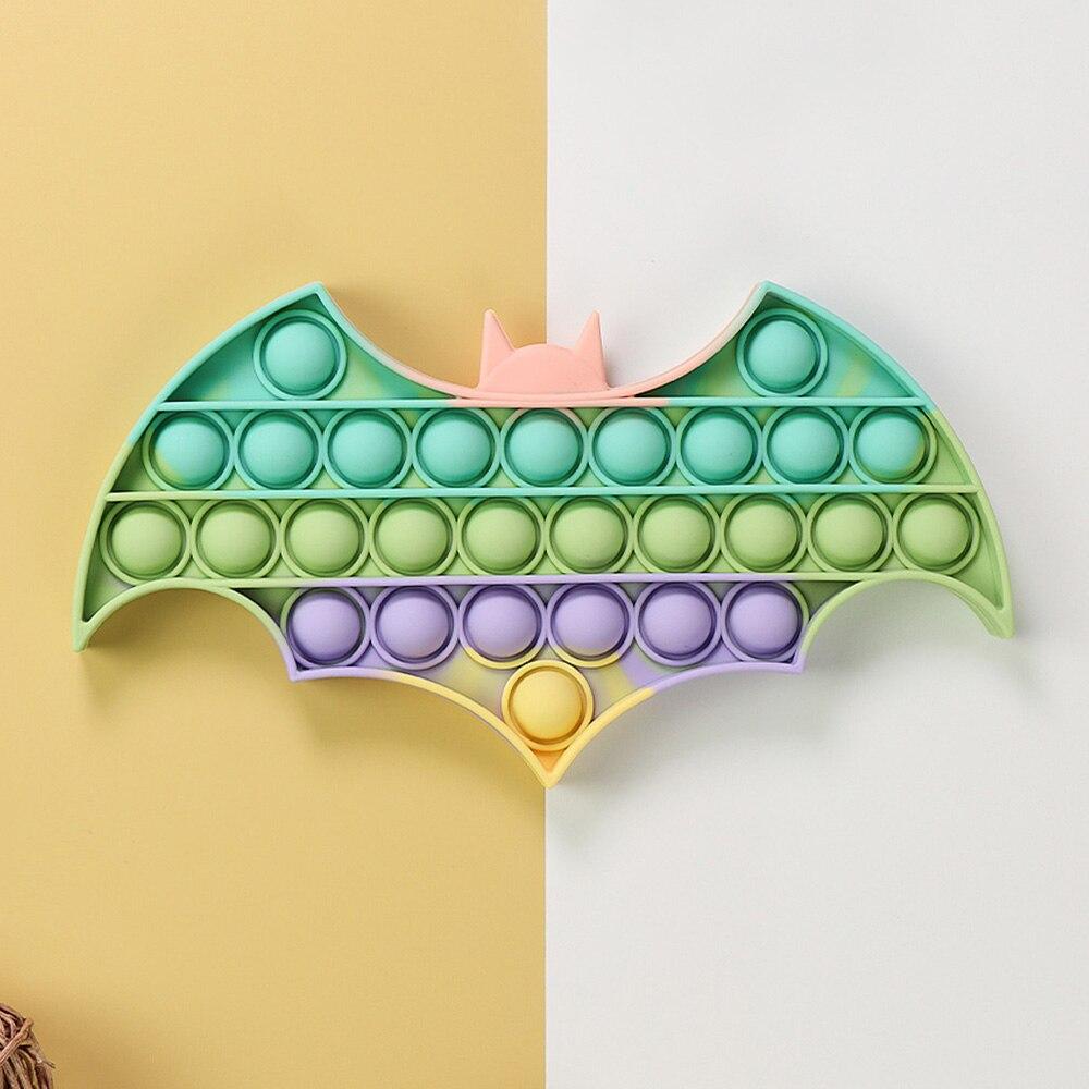 Игрушка-антистресс для детей и аутистов, макарон, летучая мышь