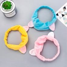 Sweet Cute Cat Ears Hair Band Sports Makeup Face Towel headband Hair Band Headband Bangs Hair Accesorios Mujer Headband 2019 15