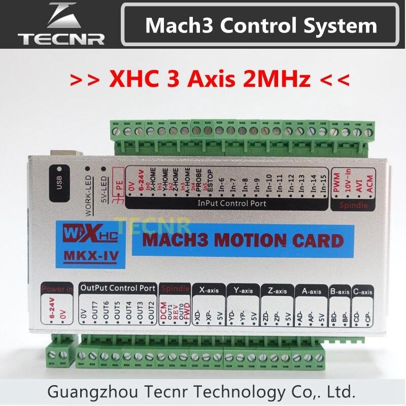 XHC MKX-IV Mach3 لوحة القطع 3 4 6 محور USB بطاقة التحكم في الحركة 2MHz دعم ويندوز 7,10