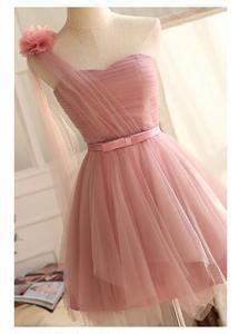 Women Dresses Ladies Wedding Party one shoulder Sleeveless Chiffon Dress Plus Size S-XXXXL